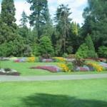 Цветни и тревни площи