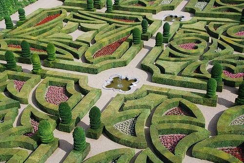 Градината на четирите любови